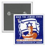 Poster de 1947 sionistas pin