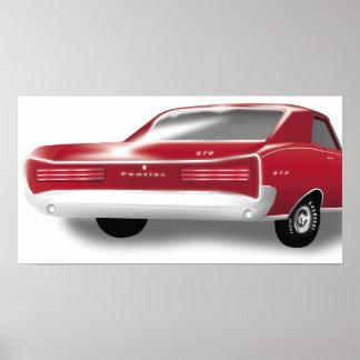 Poster de 1966 GTO