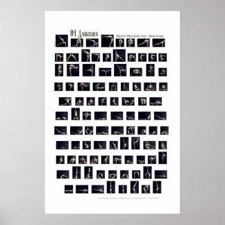 Poster de 84 Asanas