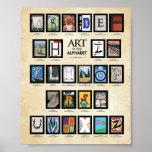Poster de ABC: Arte en el alfabeto