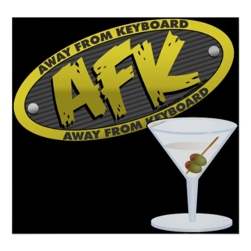 Poster de AFK Martini