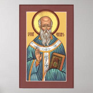 Poster de Aidan del santo