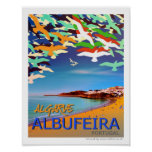 Poster de Albufeira Algarve Portugal