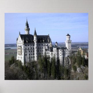 Poster de Alemania del castillo de Neuschwanstein