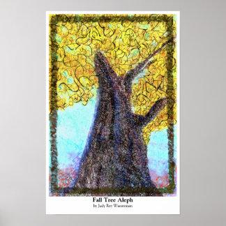 Poster de Aleph del árbol de la caída