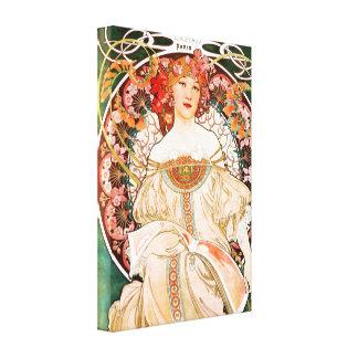 Poster de Alfonso Mucha F. Champenois Canvas Impresion En Lona