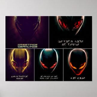 Poster de Alienware