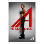 Poster de Anika del equipo