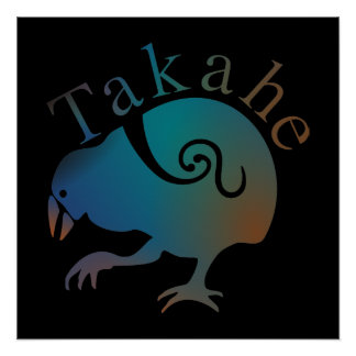 POSTER de Aotearoa Nueva Zelanda Takahe Perfect Poster