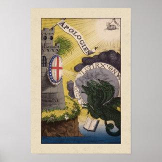 "Poster de ""Apologien"" Jacob Böhme"