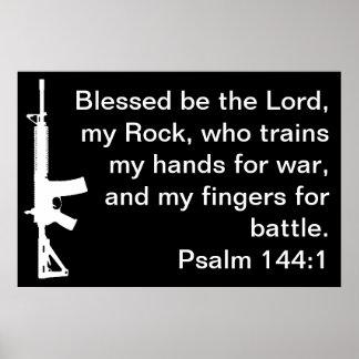 Poster de AR del 144:1 del salmo