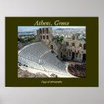 Poster de Atenas, Grecia