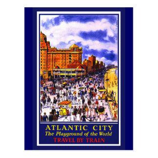 Poster de Atlantic City Tarjetas Postales