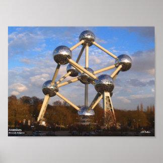 """Poster de Atomium, 10"""" x 7,5"""""""