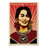 Poster de Aung San Suu Kyi