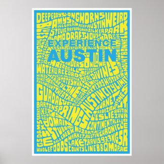 Poster de Austin de la experiencia