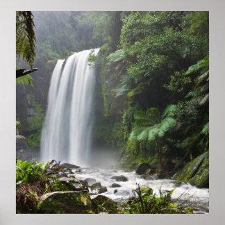 poster de Australia de las cascadas del hopetoun A