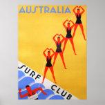 Poster de Australia del vintage del viaje