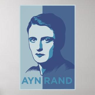 Poster de Ayn Rand