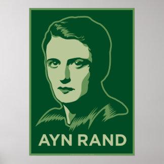 Poster de Ayn Rand Póster