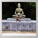 Poster de ayuno de Buda que muere de hambre Siddha
