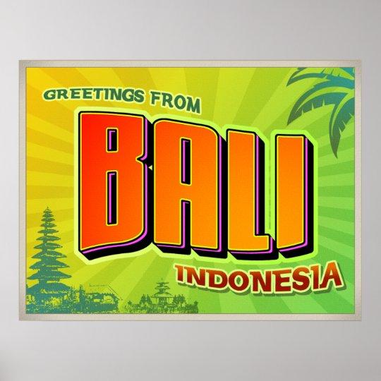 Poster de BALI Póster