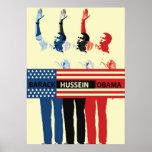Poster de Barack Hussein Obama Póster