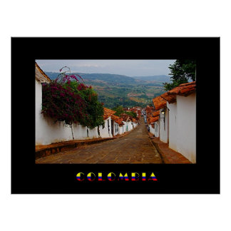 Poster de Barichara Colombia