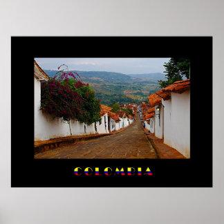 Poster de Barichara Colombia Póster