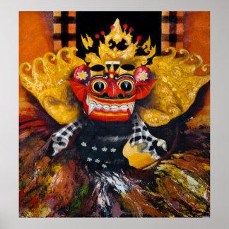 Poster de Barong del Balinese