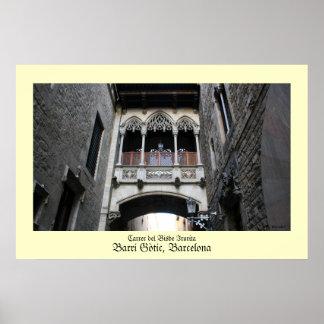 Poster de Barri Gotic Barcelona