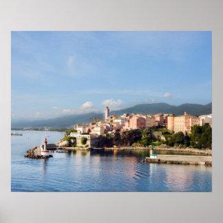 Poster de Bastia, Córcega