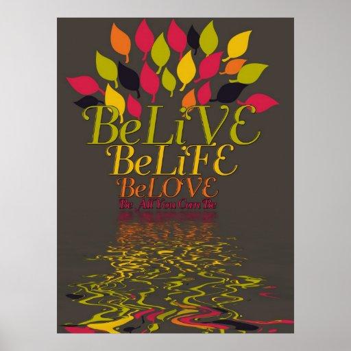 Poster de BeLiVE BeLiFE BeLOVE