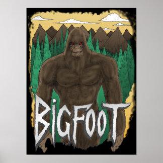 Poster de Bigfoot Póster