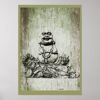 Poster de Buda del jade