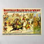 POSTER de Buffalo Bill del VINTAGE (repro)