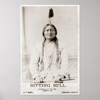Poster de Bull de sentada