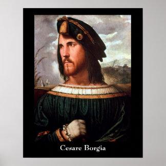 Poster de Cesare Borgia