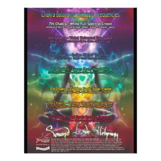Poster de Chakra Membrete Personalizado