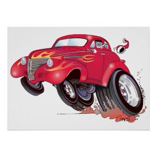 Poster de Chevy de Santa 39