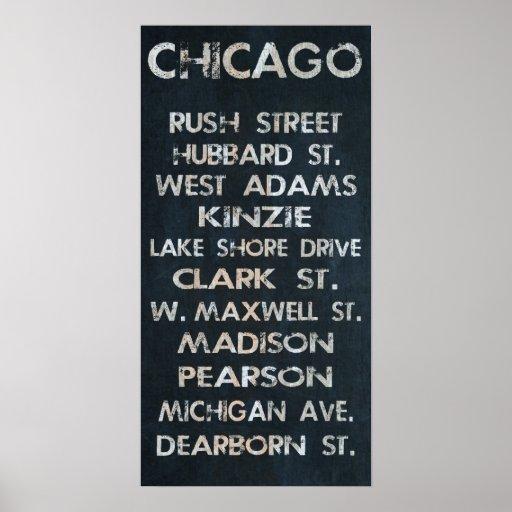 Poster de Chicago