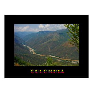 Poster de Chicamocha Colombia Póster
