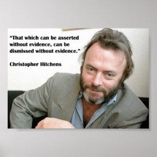Poster de Christopher Hitchens