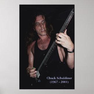 Poster de Chuck Schuldiner de la MUERTE (1967 - 20