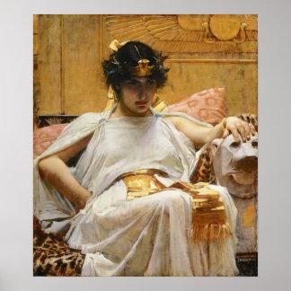 Poster de Cleopatra del Waterhouse