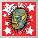 ¡Poster de Colassal del luchador de Lucha Libre! Póster