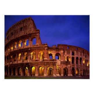 Poster de Colosseo Anfiteatro Flavio Roma Italia