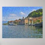 Poster de Como de Bellagio, lago