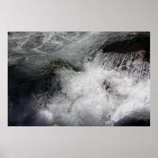 Poster de conexión en cascada del río