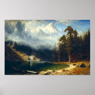 Poster de Corcoran del soporte de Bierstadt
